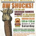 Aw Shucks! The Last Farmers' Market