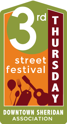 Downtown Sheridan 3rd Thursday Street Festival