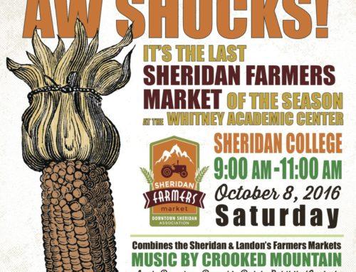 Aw Shucks! The Last Farmers' Market